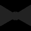 Bow tie 222222 128px
