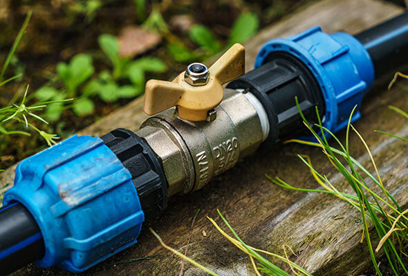 water pipe valve